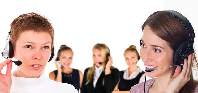 operatrici di un customer service