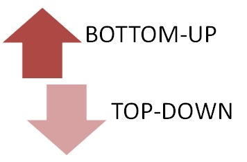 processi aziendali: bottom-up top-down